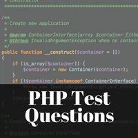 PHP Test Questions